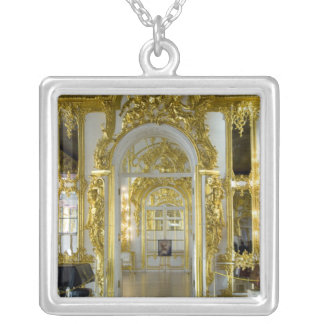 Russia, St. Petersburg, Catherine's Palace (aka 12 Silver Plated Necklace