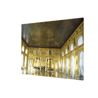 Russia, St. Petersburg, Catherine's Palace (aka 2 Canvas Print