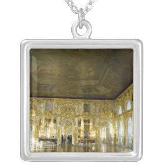 Russia, St. Petersburg, Catherine's Palace (aka 2 Silver Plated Necklace