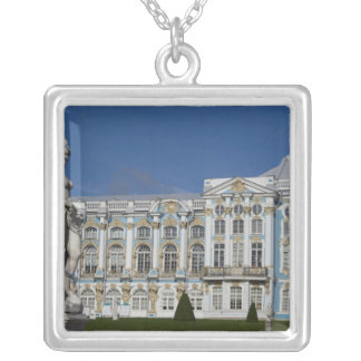 Russia, St. Petersburg, Catherine's Palace (aka 3 Silver Plated Necklace