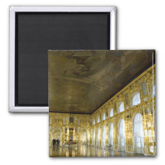 Russia, St. Petersburg, Catherine's Palace (aka 4 2 Inch Square Magnet