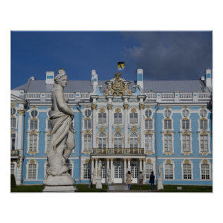 Russia, St. Petersburg, Catherine's Palace (aka 5 Poster