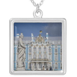 Russia, St. Petersburg, Catherine's Palace (aka 5 Silver Plated Necklace