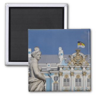 Russia, St. Petersburg, Catherine's Palace (aka 7 2 Inch Square Magnet
