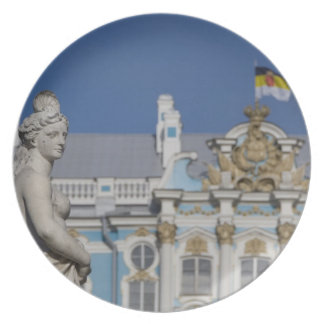 Russia, St. Petersburg, Catherine's Palace (aka 7 Dinner Plate