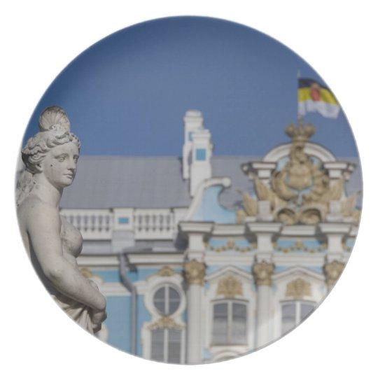 Russia, St. Petersburg, Catherine's Palace (aka 7 Dinner Plate
