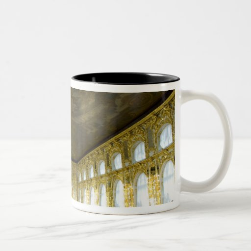 Russia, St. Petersburg, Catherine's Palace (aka 8 Two-Tone Coffee Mug