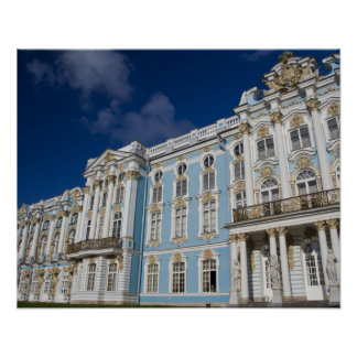 Russia, St. Petersburg, Catherine's Palace (aka Poster