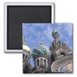 Russia, St. Petersburg, Nevsky Prospekt, The 2 2 Inch Square Magnet