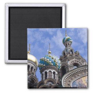Russia, St. Petersburg, Nevsky Prospekt, The 2 2 Inch Square Magnet