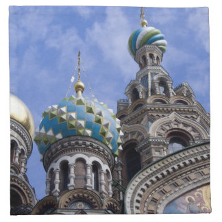 Russia, St. Petersburg, Nevsky Prospekt, The 2 Printed Napkin