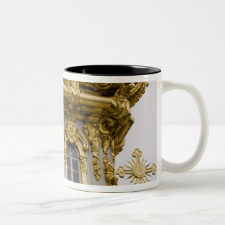Russia, St. Petersburg, Peterhof Palace (aka Two-Tone Coffee Mug