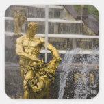Russia, St. Petersburg, Peterhoff (aka 3 Square Sticker