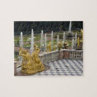 Russia, St. Petersburg, Peterhoff (aka Jigsaw Puzzle