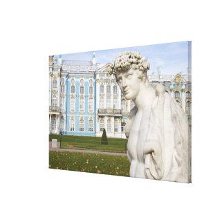 Russia, St. Petersburg, Pushkin, Catherine's 3 Canvas Print