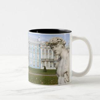 Russia, St. Petersburg, Pushkin, Catherine's 3 Two-Tone Coffee Mug