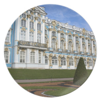 Russia, St. Petersburg, Pushkin, Catherine's Dinner Plate