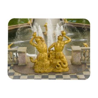 Russia, St. Petersburg. Samson fountain at Rectangular Photo Magnet
