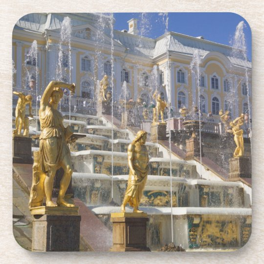 Russia, St. Petersburg, The Great Cascade, Coaster