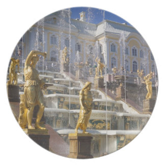 Russia, St. Petersburg, The Great Cascade, Melamine Plate