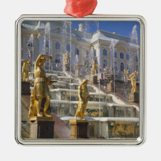 Russia, St. Petersburg, The Great Cascade, Metal Ornament