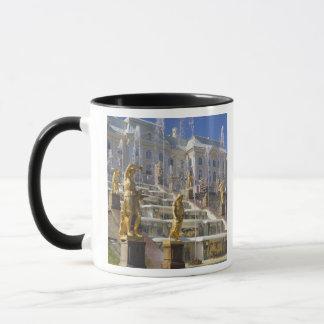 Russia, St. Petersburg, The Great Cascade, Mug