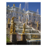 st petersburg, fountain, environment, baroque,
