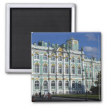 Russia, St. Petersburg, Winter Palace, The 2 2 Inch Square Magnet