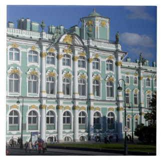 Russia, St. Petersburg, Winter Palace, The 2 Large Square Tile