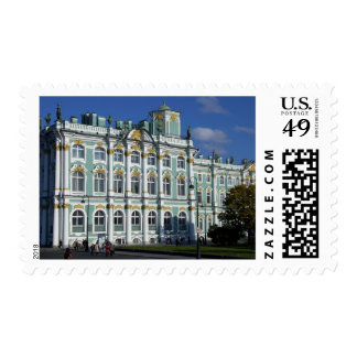 Russia, St. Petersburg, Winter Palace, The 2 Postage Stamps