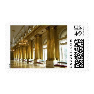 Russia, St. Petersburg, Winter Palace, The 3 Postage Stamp