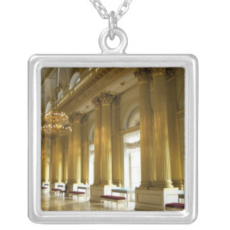 Russia, St. Petersburg, Winter Palace, The 3 Silver Plated Necklace