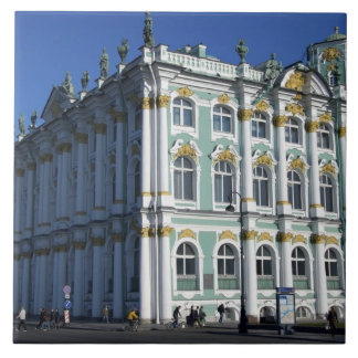 Russia, St. Petersburg, Winter Palace, The 4 Ceramic Tile