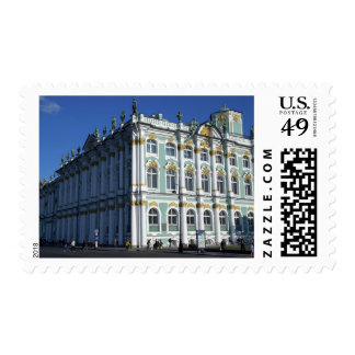 Russia, St. Petersburg, Winter Palace, The 4 Postage Stamp
