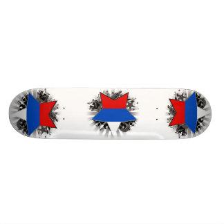 Russia Star Skateboard