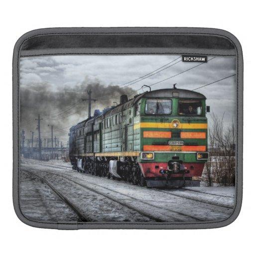 Russia Train Locomotive Sleeves For iPads