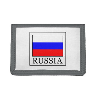 Russia Trifold Wallets