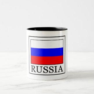Russia Two-Tone Coffee Mug