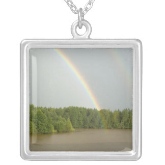 Russia Typical river views between Goritzy Personalized Necklace