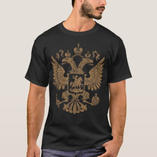 Russia Vintage Coat of Arms T-Shirt
