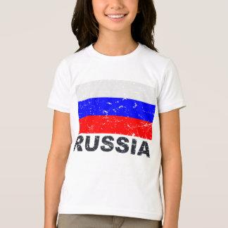 Russia Vintage Flag T-Shirt