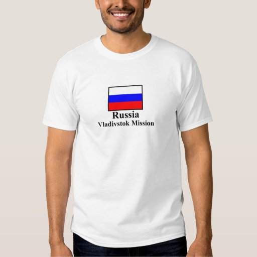 Russia Vladivostok Mission T-Shirt