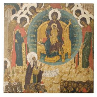 Russia, Vologda, Goritzy, Kirillov-Belozersky Ceramic Tile
