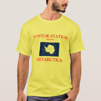 Russia Vostok Antarctica Station Shirt