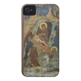 Russia, Yaroslavl, fresco in Cathedral of St. 2 iPhone 4 Cover