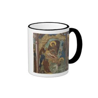 Russia, Yaroslavl, fresco in Cathedral of St. 2 Coffee Mugs