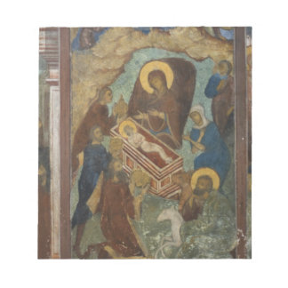 Russia, Yaroslavl, fresco in Cathedral of St. 2 Notepad