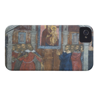 Russia, Yaroslavl, fresco in Cathedral of St. Case-Mate iPhone 4 Case