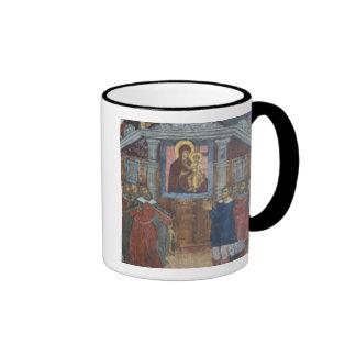 Russia, Yaroslavl, fresco in Cathedral of St. Coffee Mug
