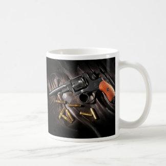 Russian 1895 Nagant Revolver Coffee Mug